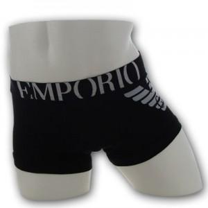 Emporio Armani - Eagle Stretch Trunk - Zwart