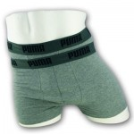 Puma Basic Boxer Shorts - 2pack - Grey