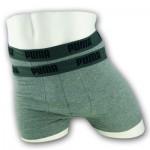 Puma Basis Boxershorts - 2pack - Grijs