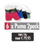 Puma - 6 x 2pack Boxershort Top Deal