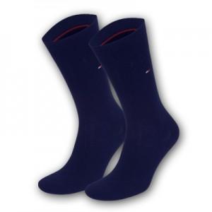 Tommy Hilfiger sokken - basis donker blauw  - 2pack
