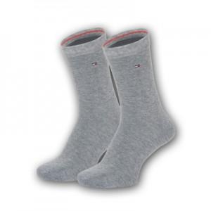 Tommy Hilfiger sokken - basis grijs - 2pack
