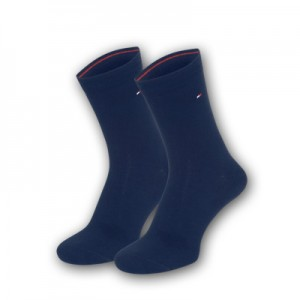 Tommy Hilfiger sokken - donker blauw - 2pack